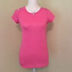 Poof Top in Pink Size Small